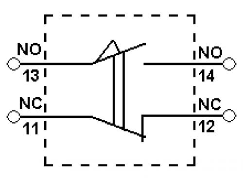 Концевые (конечные) выключатели CLS-191. Схема подключения