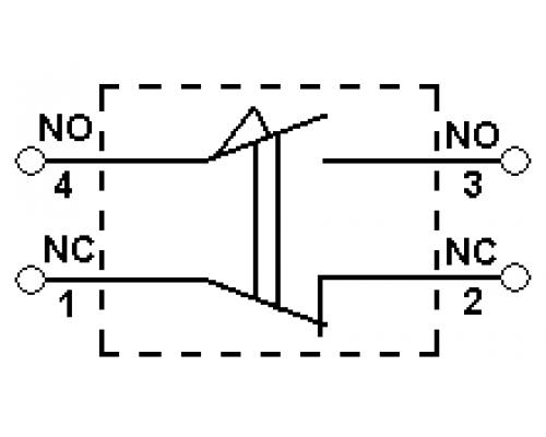 Концевые (конечные) выключатели CWLCL. Схема подключения