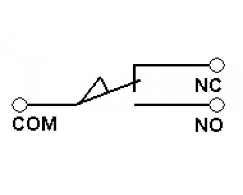 Концевые (конечные) выключатели CZ-7312. Схема подключения