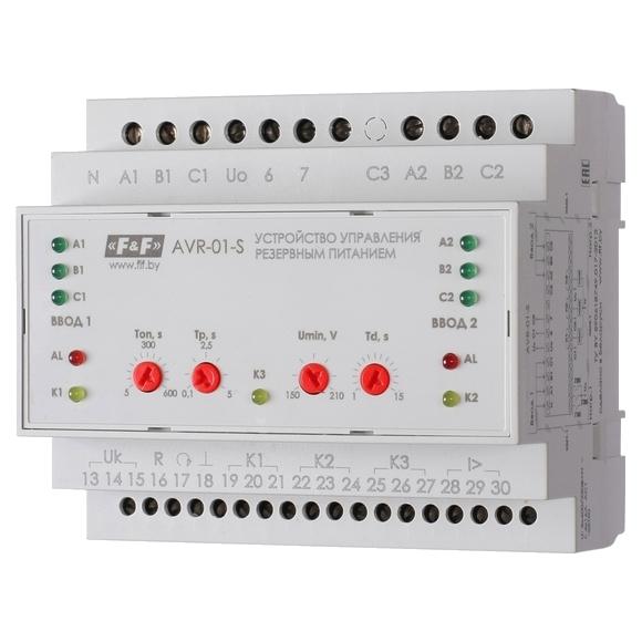 Устройство управления  резервным питанием AVR-01-S на Din-рейку