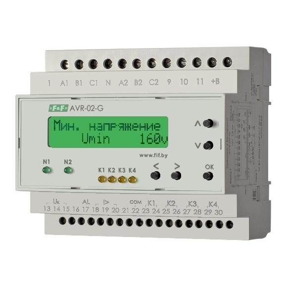 Устройство управления резервным питанием AVR-02-G на Din-рейку