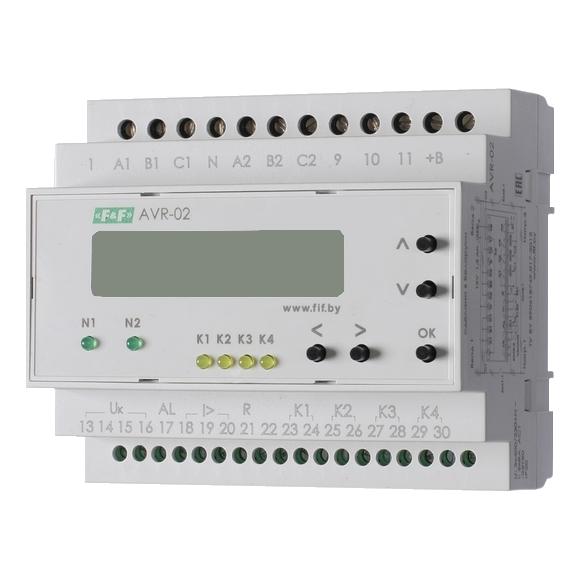 Устройство управления резервным питанием AVR-02 на Din-рейку
