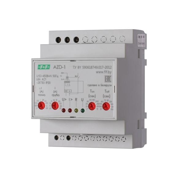 Реле защиты электродвигателей AZD-1 на Din-рейку