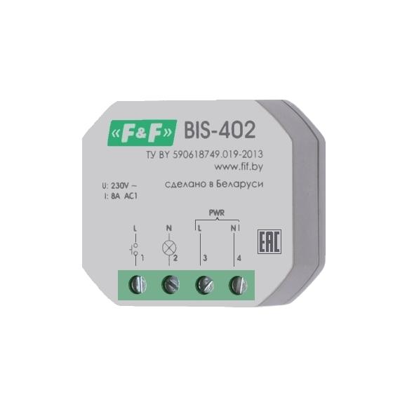 Реле импульсное (лестничный автомат) BIS-402
