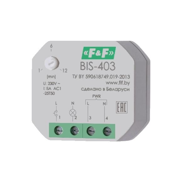 Реле импульсное (лестничный автомат) BIS-403