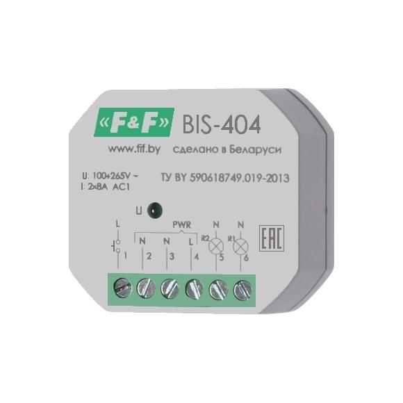 Реле импульсное (лестничный автомат) BIS-404