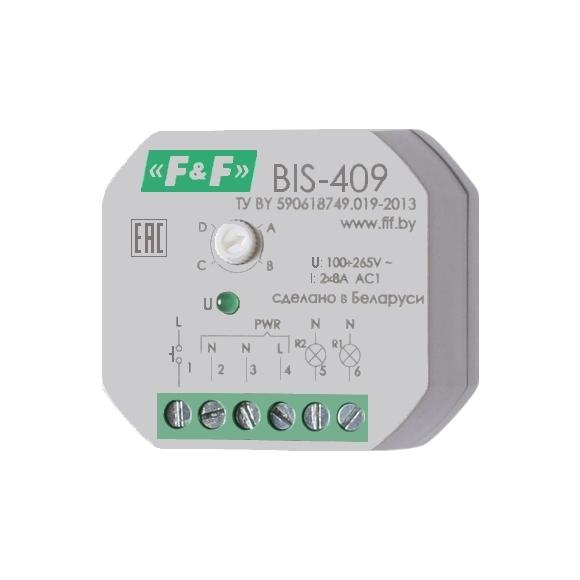 Реле импульсное (лестничный автомат) BIS-409