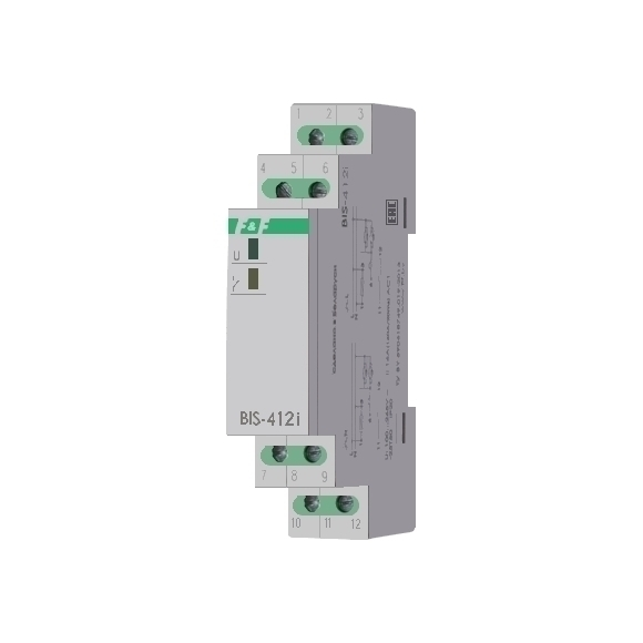 Реле импульсное (лестничный автомат) BIS-412i