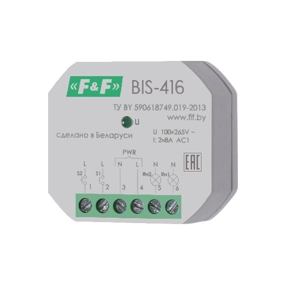 Реле импульсное (лестничный автомат) BIS-416