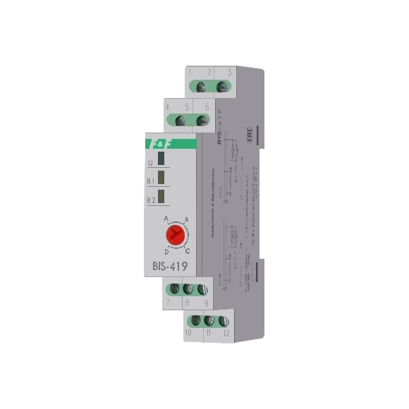 Реле импульсное (лестничный автомат) BIS-419