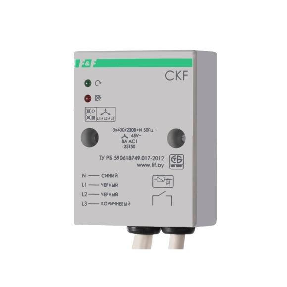 Реле контроля напряжения 3-фазное CKF на поверхность