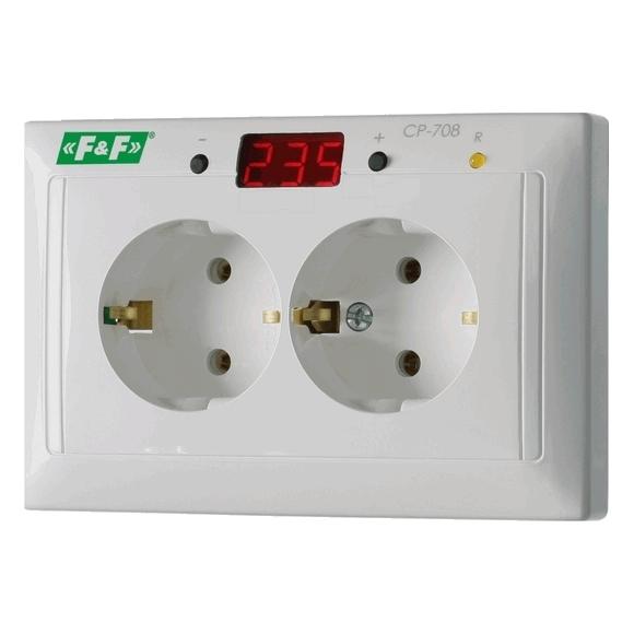 Реле контроля напряжения однофазнное CP-708