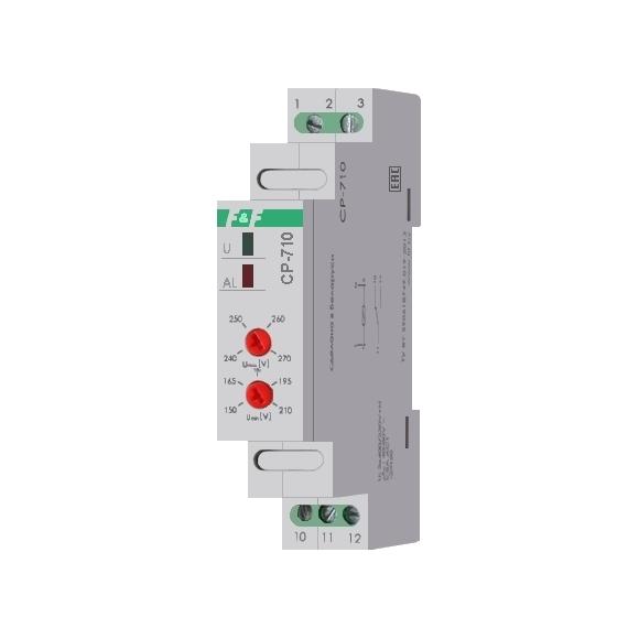 Реле контроля напряжения однофазнное CP-710 на Din-рейку