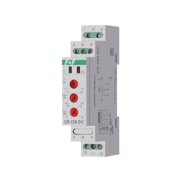 Реле контроля напряжения однофазнное CP-720 DC на Din-рейку