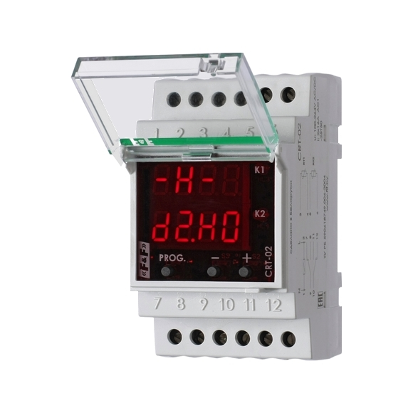 Регулятор температуры  CRT-02 на Din-рейку с датчиком
