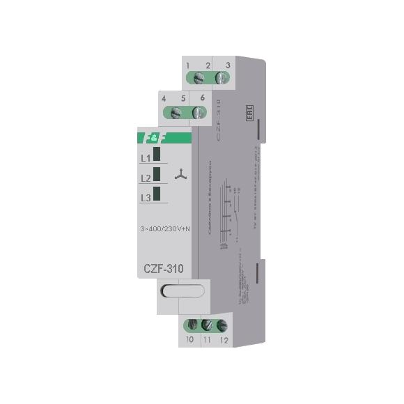 Реле контроля напряжения 3-фазное CZF-310 на Din-рейку