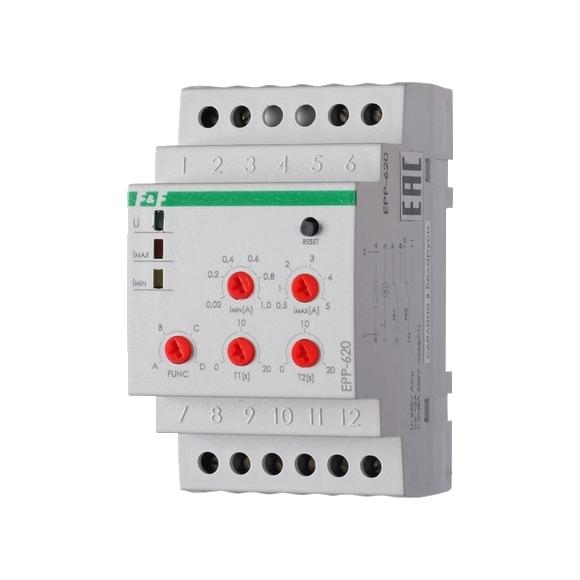 Реле контроля тока EPP-620 на Din-рейку