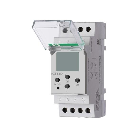 Цифровой программируемый недельный регулятор яркости освещения  PCZ-531A10 на Din-рейку