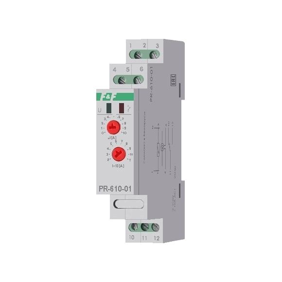 Реле контроля тока PR-610-01 на Din-рейку