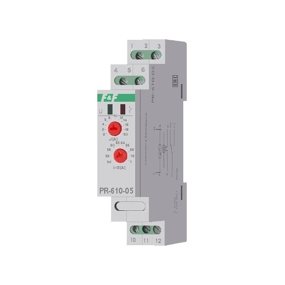 Реле контроля тока PR-610-05 на Din-рейку