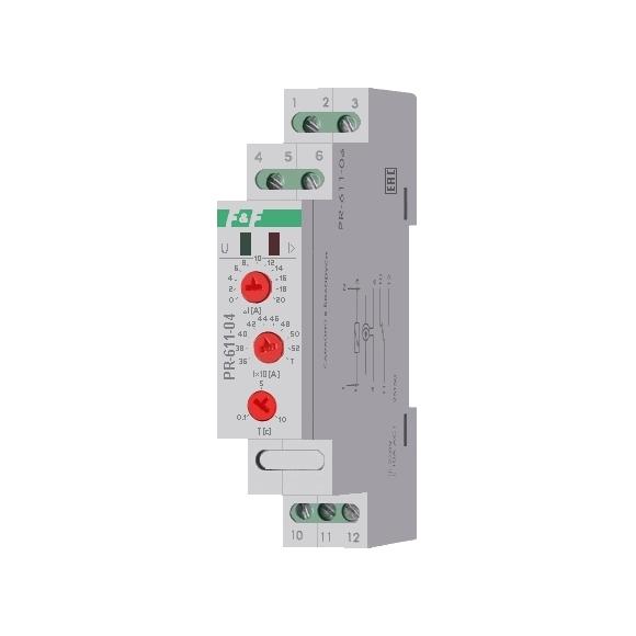 Реле контроля тока PR-611-04 на Din-рейку