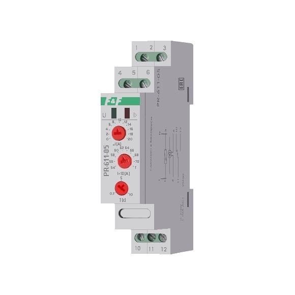 Реле контроля тока PR-611-05 на Din-рейку