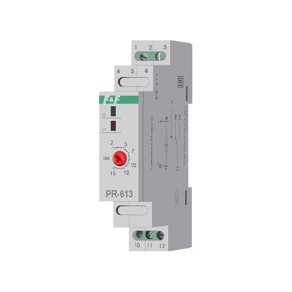 Реле тока приоритетное PR-613 на Din-рейку