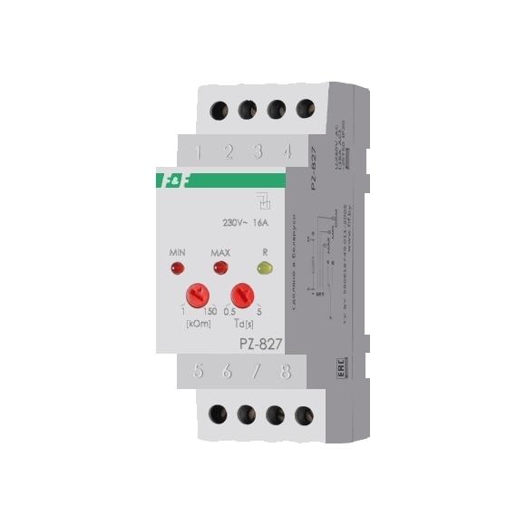 Реле контроля уровня жидкости PZ-827 на Din-рейку (без датчика)