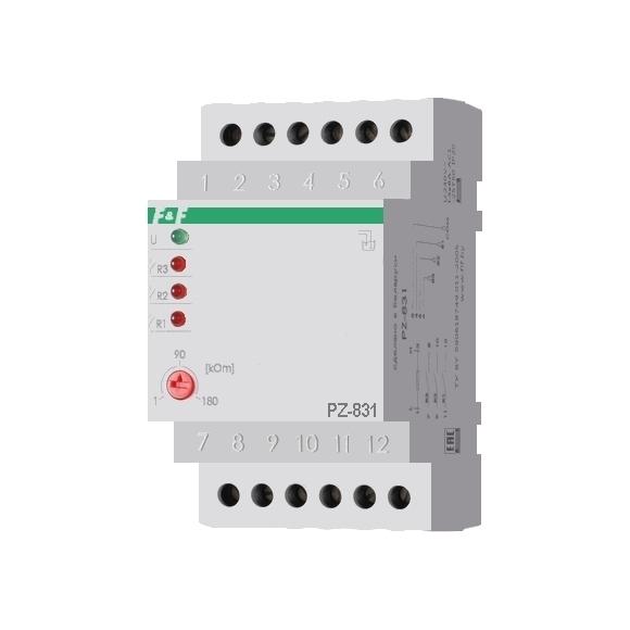 Реле контроля уровня жидкости PZ-831 на Din-рейку