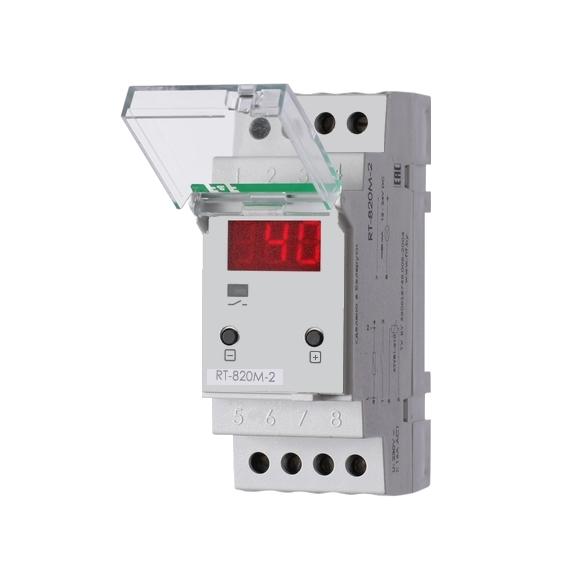 Регулятор температуры  RT-820M-2 на Din-рейку с датчиком