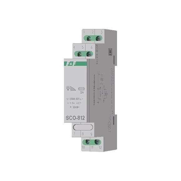 Регулятор освещенности (диммер) SCO-812 на Din-рейку
