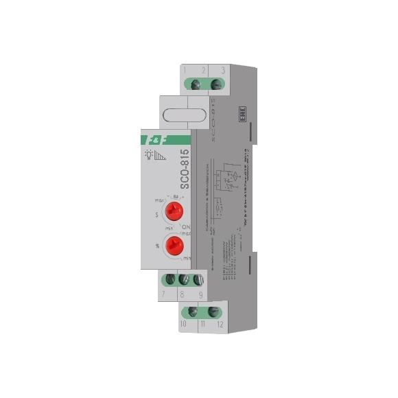 Регулятор освещенности (диммер) SCO-815 на Din-рейку
