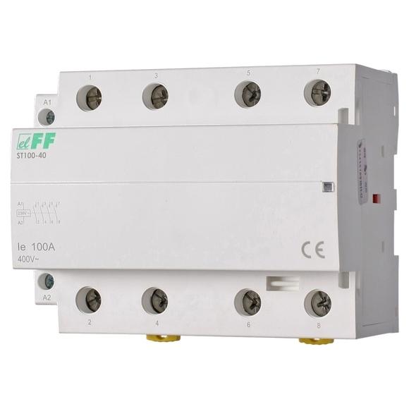 Модульный контактор ST100-40 на Din-рейку