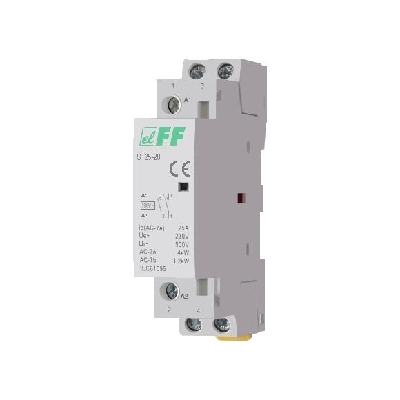 Модульный контактор ST25-20 на Din-рейку