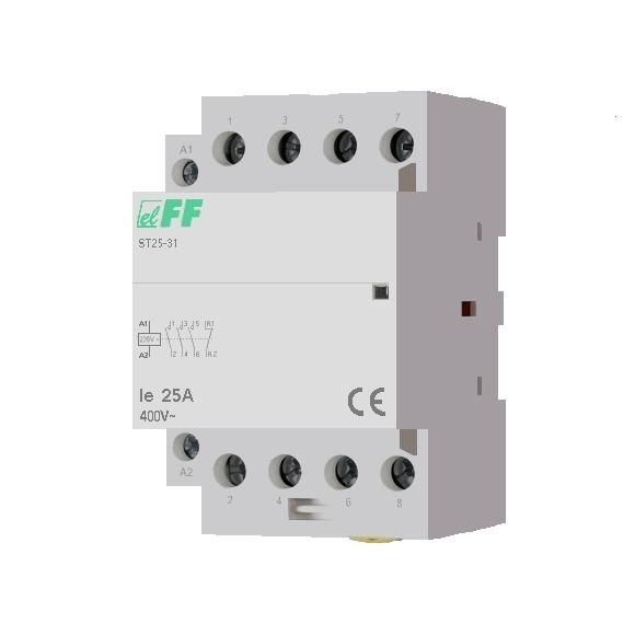 Модульный контактор ST25-31 на Din-рейку