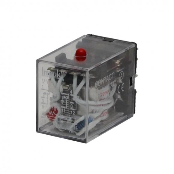 Промежуточное реле MY4-NS 220V AC