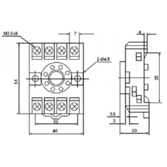 Клемная колодка PF083A