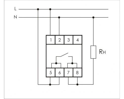 PK-1Z-30. Схема подключения