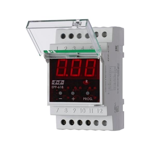 Реле контроля тока EPP-618 на Din-рейку