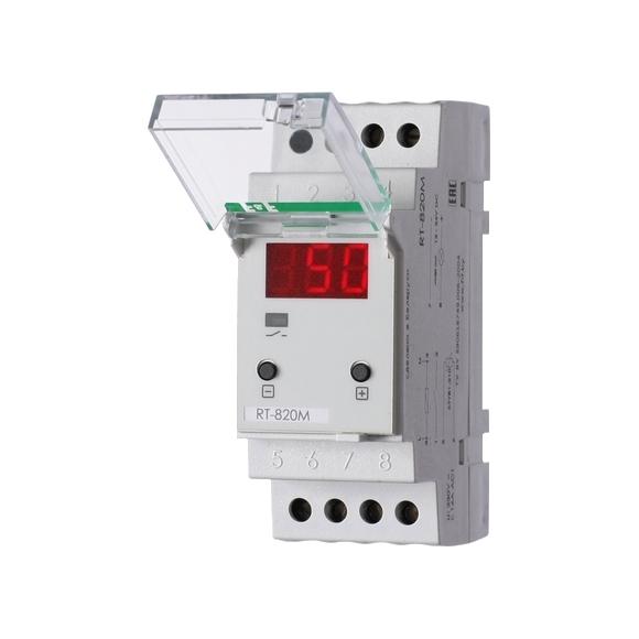 Регулятор температуры  RT-820M на Din-рейку с датчиком