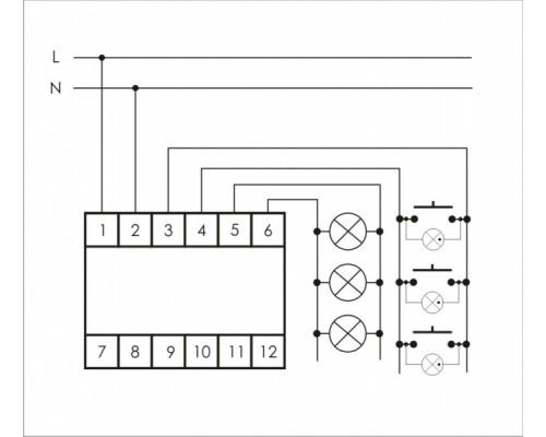 SCO-813. Схема подключения