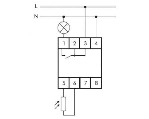 AZ-BU . Схема подключения