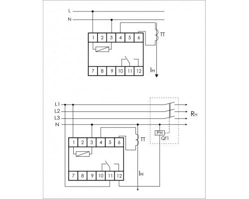 PR-611-05. Схема подключения