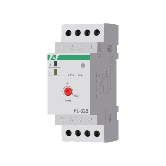 Реле контроля уровня жидкости PZ-828 на Din-рейку