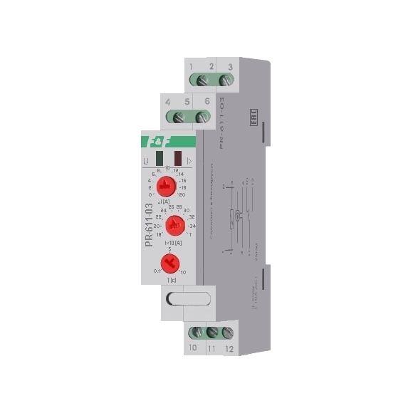Реле контроля тока PR-611-03 на Din-рейку