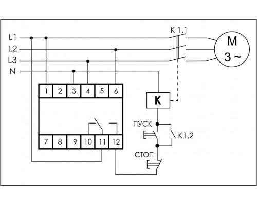 CKF-316. Схема подключения