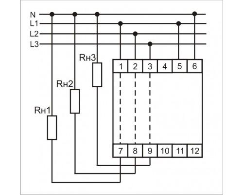 WT-3. Схема подключения