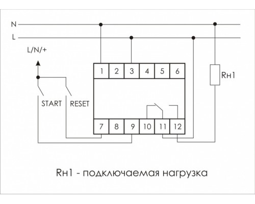 PCS-516U. Схема подключения