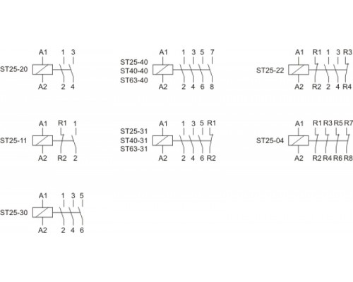 ST40-40/24. Схема подключения