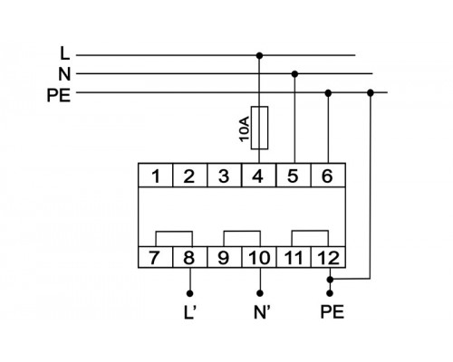 OP-230. Схема подключения